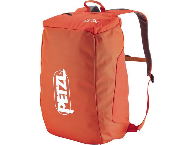 Petzl Kliff Zaino per corda, rosso/arancione